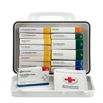 16 Unit First Aid Kit, Plastic Case