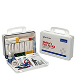 16 Unit Welders First Aid Kit, Plastic Case