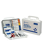 16 Unit Truckers First Aid Kit, Plastic Case