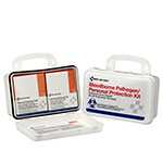 Blood borne Pathogen (BBP) Unitized Spill Clean Up Kit, Plastic Case