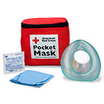 CPR Laerdal Pocket Mask, Fabric Case