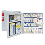 SmartCompliance ANSI A+ First Aid Cabinet without medications, 50 Person, Large Metal