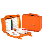 25 Person 16 Unit First Aid Kit, Waterproof Case, ANSI A, Type IV