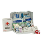 25 Person Bulk Metal ANSI A,  First Aid Kit