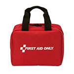 50 Person Bulk First Aid Kit, ANSI A+, Type I & II, Nylon Soft Fabric Case