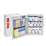 25 Person Medium Metal SmartCompliance First Aid Food Service Cabinet,  ANSI A, without Medication