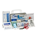 10 Person Bulk Plastic ANSI A, First Aid Kit