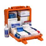 50-Person ANSI B First Aid Kit, Plastic, Waterproof
