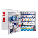 150 Person XL Metal SmartCompliance Food Service First Aid Cabinet with Medications
