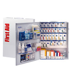150 Person XL Metal SmartCompliance Food Service First Aid Cabinet without Medications
