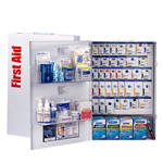 200 Person XXL Metal SmartCompliance Food Service First Aid Cabinet with Medications