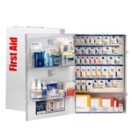 200 Person XXL Metal SmartCompliance Food Service First Aid Cabinet without Medications