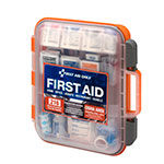 50 Person ANSI A+ 216 Piece First Aid Kit, Plastic