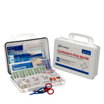 25 Person Contractor First Aid Kit, Plastic Case