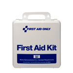 50 Person National Standard Bus First Aid Kit, Plastic Case
