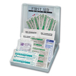 Travel First Aid Kit, 20 Piece, Plastic Case
