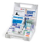 First Aid Kit, 180 Piece, Plastic Case