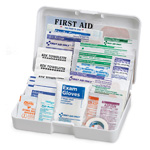 Vehicle First Aid Kit, 41 Piece, Plastic Case