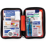 Outdoor First Aid Kit, 107 Piece, Fabric Case