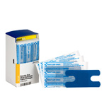 SmartCompliance Refill Blue Metal Detectable Knuckle Bandages, 20 Per Box