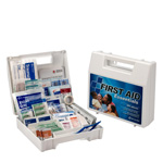 First Aid Kit, 199 Piece, Plastic Case
