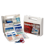 10 Person Sports First Aid Kit, Plastic Case  - LIMITED TIME OFFER!