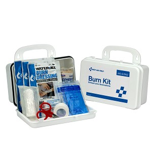 Burn Care Kit, Plastic Case