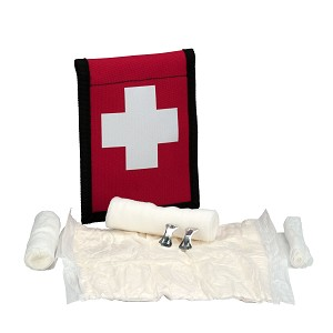 Climber's Blood stopper First Aid Kit, Fabric Pouch  - LIMITED TIME OFFER!