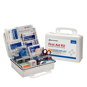 25 Person Plastic First Aid Kit, ANSI A+, Type III