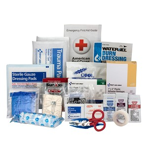 25 Person Contractor ANSI A+ First Aid Kit Refill