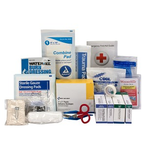 25 Person Contractor ANSI A+ First Aid Kit Large Refill