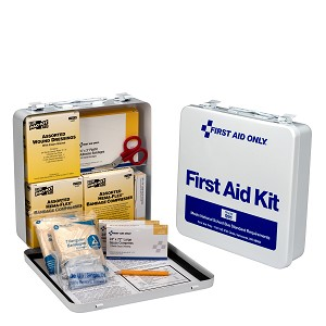 50 Person National Standard Bus First Aid Kit, Steel Case