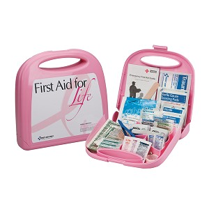 First Aid for Life Kit, Pink Case