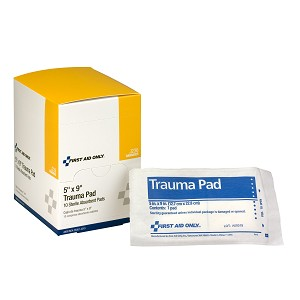 "5""x9"" Trauma Pad, 10 per Box"