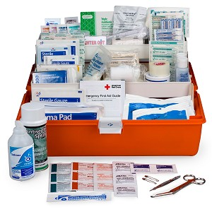 First Responder First Aid Kit, Large, 269 Piece Plastic Case