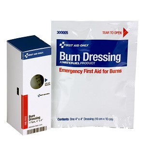 "SmartCompliance Refill 4""x4"" Burn Dressing, 1 Per Box"