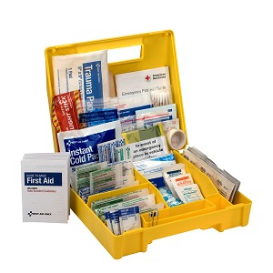 Vehicle First Aid Kit, 138 Piece, Plastic Case
