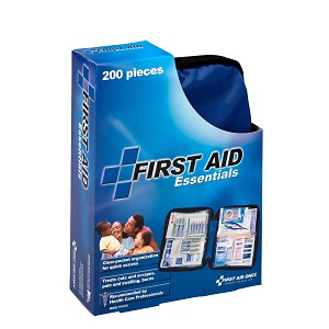 Essentials First Aid Kit, 199 Piece, Fabric Case