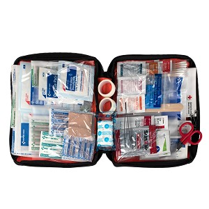 Outdoor First Aid Kit, 205 Piece, Fabric Case