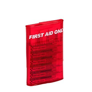 Trifold Travel First Aid Kit, Vinyl Case